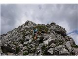 Žrd (2324m)Pot na vrh je bistveno bolj uhojena kot v preteklosti in le v spodnjem delu je malce šodrasta