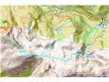 Žrd (2324m)GPS sled prehojene poti