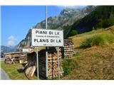 Planina Pekol -Reklanska dolinaIme vasi tudi po furlansko.