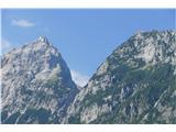 Robanov kot - Robanova planinaŠkrbina- zajeda med Ojstrico in Krofičko