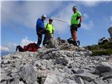 Matkova kopatrije iz ekipe na vrhu Krničke gore