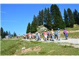 Menina planinaPrvo gremo na Šavnice in Goli vrh.