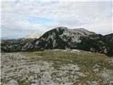 Veliki vrh, DleskovecPogled z Dleskovca na najin naslednji cilj.