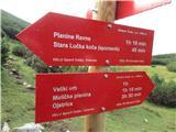 Veliki vrh, DleskovecNove table na Pragu. Pohvalno PD Grmada.
