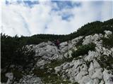 Veliki vrh, DleskovecTudi kakšen skok se najde...