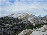 Veliki vrh, DleskovecTik pod vrhom se odpro razgledi.