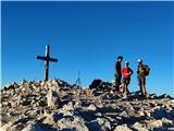 MangartNa vrhu ni bilo mraza