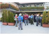 Razgledišče pod Srnjakom nad Logatcem-919mŠtart je bil v Logatcu.