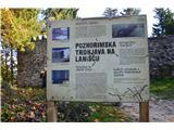 Razgledišče pod Srnjakom nad Logatcem-919m