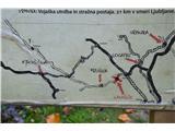 Razgledišče pod Srnjakom nad Logatcem-919mTako je potekala rimska obrambna črta .