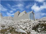 Turska gora čez Kotliški graben in ŽmavčarjiZ sivo oplato je tudi lep.