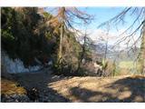 Ciprnik...preči pobočje Vitranca od smučišča in zravna zadnji del grebena...