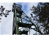 Stene Sočerge -Kraški rob,spodmoli,naravni most, Lačna, Hrastovlje  Razgledni stolp na Lačni.