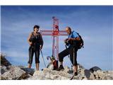 Alta via CAI Gemona (greben Lanež - Veliki Karman)Na vrhu Velikega Karmana