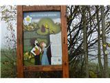 Po poti Cvetja v jeseniPod Lovskim Brdom je prva točka poti Cvetje v jeseni.