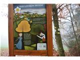 Po poti Cvetja v jeseniDruga točk poti je nad Lovskim Brdom.