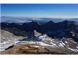 Pogled proti pokljuškim vrhovom