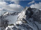 Krnička gora iz Matkove KrniceZame eden od lepših prizorov v gorah.
