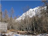 Kamniško sedlo- sončni vzhodPri Pastirjih