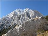 Kamniško sedlo- sončni vzhodKamrca z Brano