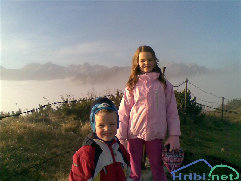 Manja in David na Mali planini