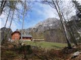 Belopeška jezera - Rifugio Zacchi koča Zacchi