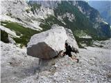 Krnička gora iz Matkove KrniceKakor hiter mu hrbet obrneš, že dela oslarije!!!!