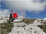Tolsta Košuta 2057m-vzhodni vrh 01.06.11