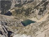 Bovški Gamsovecspodnje Kriško jezero