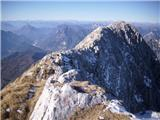 Žrd (2324m)greben, tam zaaadaj je vrh