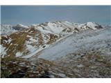 Monte Paularo in Monte DimonMt. Dimon z  Mt. Neddisa 1990m