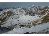 Monte Paularo in Monte DimonMt. Paularo z Mt. Dimona