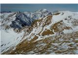 Monte Paularo in Monte Dimonproti  planini pod Mt. Paularom