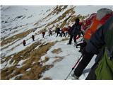Monte Paularo in Monte Dimonnajbolj sitno mesto na poti