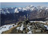 Monte Paularo in Monte Dimonz vrha Mt. Paulara