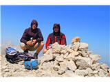 PlanjavaNa vrhu je bilo zelo vetrovno