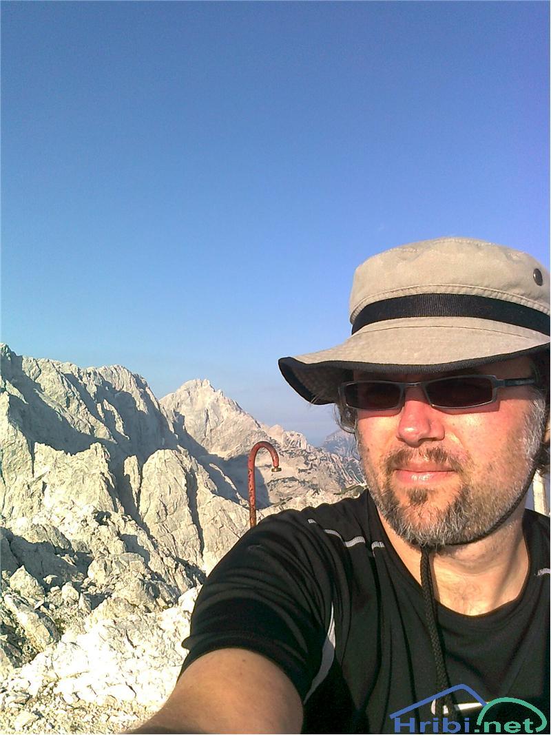 Avtoportret na vrhu Mrzle gore