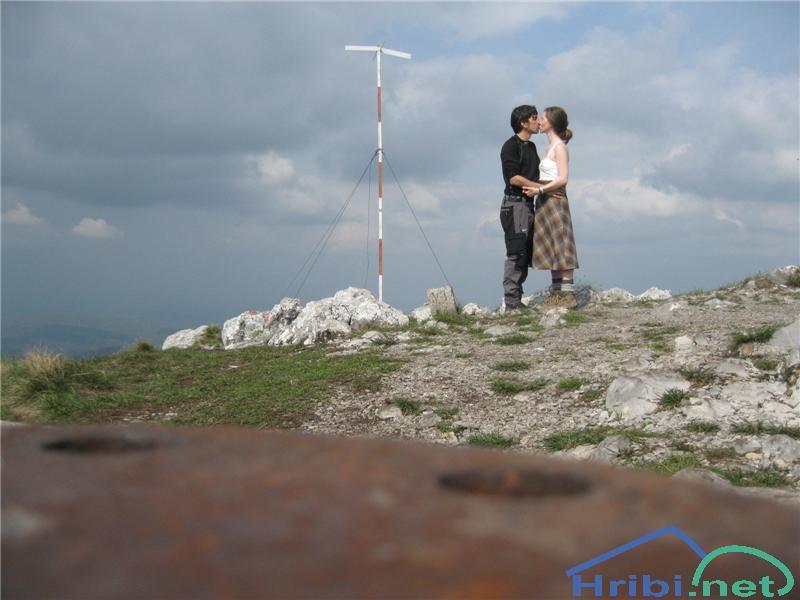Poljub na vrhu