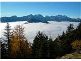 Kamniško Savinjske alpe z Olševe