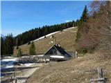 Kapelška koča / Eisenkappler Hütte