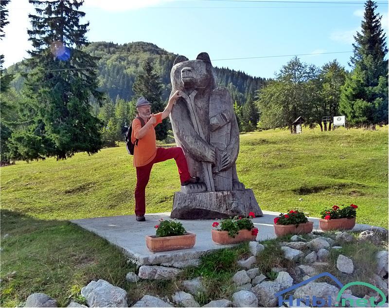 pozdrav od dveh medvedov z Soriške planine