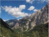 na Okrešlju-pogled v Logarsko dolino