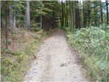 Rokovnjaška planinska pot...bolj konkretno proti Špilku...