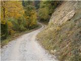 Rokovnjaška planinska pot...je bila tudi gramozirana pot...