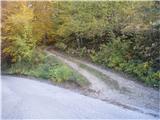 Rokovnjaška planinska pot  še ena ,,skomina, za Krašnjo in lepo po ravnini do Blagovice ampak grem dalje - na Limbarski gori še nisem v življenju nikoli bil...