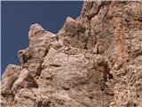 Prečenje Via de la Vita - Vevnica - Strug - PonceVarovala od desne proti levi navzgor