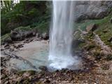 Podkanjski slap / Wildensteiner Wasserfall
