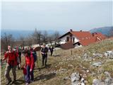 Srečanje Hribi.net 2016Proti Sinjemu vrhu