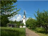 Šobčev bajer - Sveti Lambert (Lancovo)