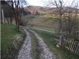 Kandrše (Trata) - Slivna (Pivkelj)